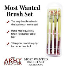 The Army Painter Most Wanted (3 Piece) Brush Set TL5043