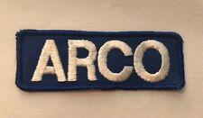 ARCO Atlantic Richfield Company Patch Oil Gasoline A