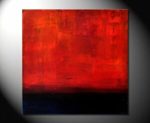 """FIONA RITZ """"DAWN"""" Abstrakte Bilder! Moderne Kunst-Handgemaltes Origininal"""
