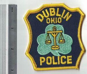 Dublin Police Patch Ohio OH