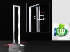 Honsel 50183 Anders LED Tischleuchte Büro Leuchte Lese Lampe dimmer Chrom