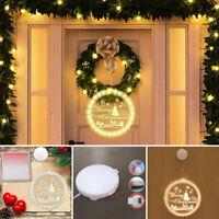 LED Merry Christmas Weihnachtsbeleuchtung Lichterkette Licht Fenster Deko Party