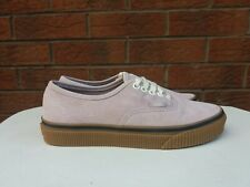 VANS OFF THE WALL WOMENS UK SIZE 5.5 LILIC SUEDE LACE UP TRAINERS