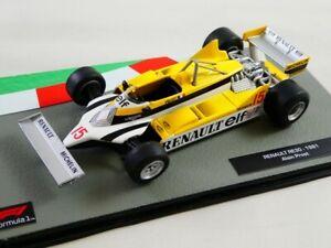 Altaya Die Cast F1 Renault RE30 Turbo #15 Alain Prost 1981 1/43