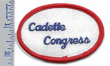 Vintage Girl Scout Patch - Cadette Congress