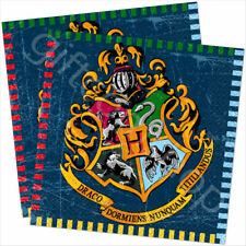 "13"" Harry Potter Party Napkins Childrens Birthday Party Tableware Supplies x 16"