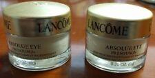 Lot of 2 Lancome Absolue Eye Premium Bx Replenishing Eye Cream 0.2 oz each