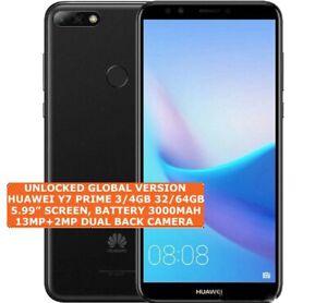 HUAWEI Y7 PRIME 3/4gb 32/64gb 13mp Fingerprint Dual Sim Android LTE Smartphone