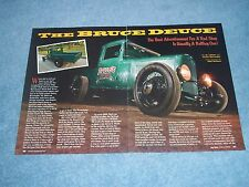 """1932 Ford Hot Rod Pickup Article """"The Bruce Deuce"""" Highboy"""