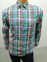 Camicia TOMMY HILFIGER Uomo Taglia Size M Shirt Man Chemise Homme Cotone 8018