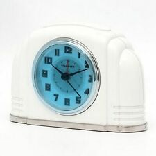 Crosley Bakelite Arch Silent Sweep Alarm Clock w/Smartlite Technology 33388