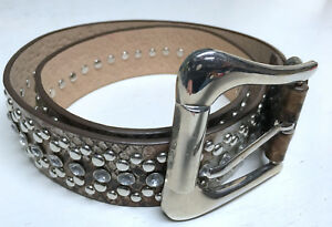"""Bongo Bling Jeweled Bedazzled Large 33"""" Fashion Belt"""