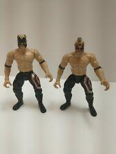 1997 Jakks Pacific WCW WWF WWE Legion Of Doom Animal & Hawk Road Warriors