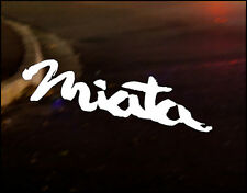 MAZDA MIATA JDM Decal vinyl sticker, MX5 Eunos NA NB NC