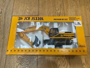 JOAL REF: 261 JCB JS330L CRAWLER EXCAVATOR METAL TRACKS