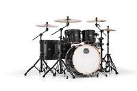 Mapex Armory Series 6 Piece Drum Set, Black Hardware Shirt-Sticks-Tom-Heads-TB