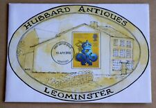 QUEEN'S AWARD TO INDUSTRY 1990 HAND PAINTED 'HUBBARD ANTIQUES LEOMINSTER' FDC