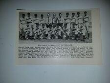 Northrop Bombers of Hawthorne 1942 Baseball Team Picture