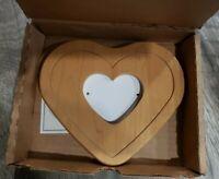 LONGABERGER WOODCRAFTS LITTLE LOVE PHOTO INSERT LID Replacement #54747