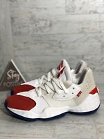 Adidas Harden Vol. 4 {FV5598} Question Mens sz 7 Red White Blue Basketball Shoes