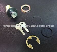 Truck cap / Tonneau cover LEER Chrome Push Button Lock Handle # 81522