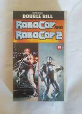 Robocop & Robocop 2 Limited Edition Double Bill VHS RARE
