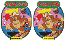 Donkey Kong Nintendo Arcade Cabinet Graphics For Reproduction Side Art