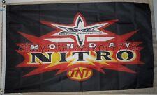 WCW Monday Nitro Wrestling 3'x5' flag banner1 - WCW, WWF, WWE USA Seller shipper