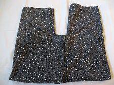 WOMENS BRIGGS NEW YORK BLACK/WHITE CAPRI PANTS, 10