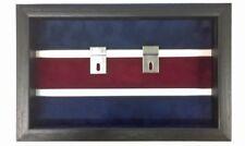 Large Canadian Guards Medal Display Case. Black Frame