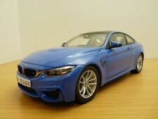 BMW M4 bleu Yas Marina 1/18 M3 coupé