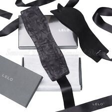 Lelo Etherea Pure Silk & Suede Cuffs Restraints Black BRAND NEW