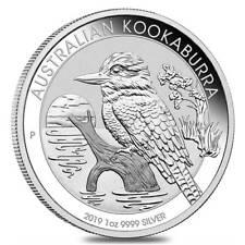 Australian Kookaburra 2019 1 Dollar 1 OZ (31,15 gr.) Argento 999 Silver CAPSULA