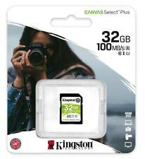 Kingston 32GB SD Card (Kingston's Canvas Select Plus SD card )