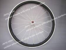 Only front road wheel 38mm carbon fiber wheel alloy brake 700C wholesale price
