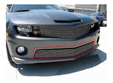 Viogi Fit:10-13 Chevy Camaro LS/LT V6 Polished Face Bumper Billet Grille Insert