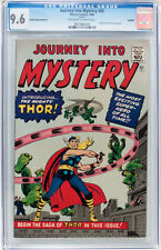 Journey Into Mystery #83 CGC 9.6 1966 1st Thor!! GRR Avengers! C9 919 cm clean