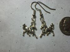 Horse Running Free Earrings