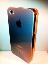 cover rigida Iphone 4 4S colore silver lato trasparente