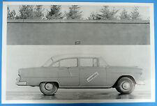 "12 By 18"" Black & White Picture 1955 Chevrolet 210 4 Door Sedan"