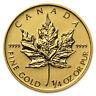 2013 Canada 1/4 oz Gold Maple Leaf BU - SKU #71263