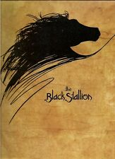 BLACK STALLION movie program(MICKEY ROONEY):  high grade:  free mail?
