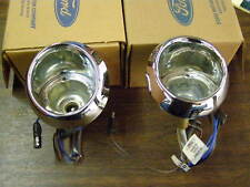 NOS OEM 1965 1966 Ford Mustang Park Light Housings