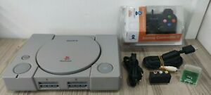 PS1 - SONY PLAY STATION 1  PS1 CONSOLE  + PAD + MEMORY CARD E ALTRO