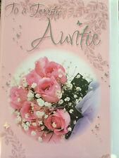 Auntie Birthday Card...Nice Words