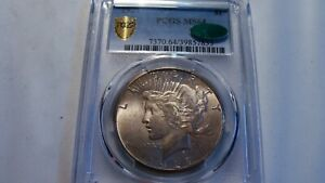 1927 Peace Silver $  PCGS MS-64 CAC