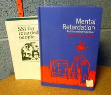 MENTAL RETARDATION Oliver Kolstoe 1972 book Un-PC education w/ pamphlet