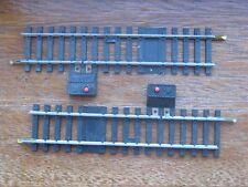 Jouef Ref. 4850.   2 x Single Rail Isolating Track. Manual Restart. HO Scale.