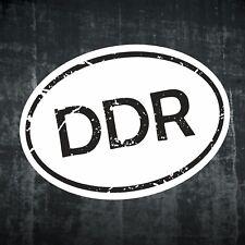 1x DDR Aufkleber Auto Motorrad Moped Sticker Rund Retro Vintage Fun  AD306