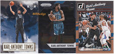 (3) 2016-17 PRIZM/COURT KINGS/DONRUSS: KARL-ANTHONY TOWNS - WOLVES BASE CARD LOT